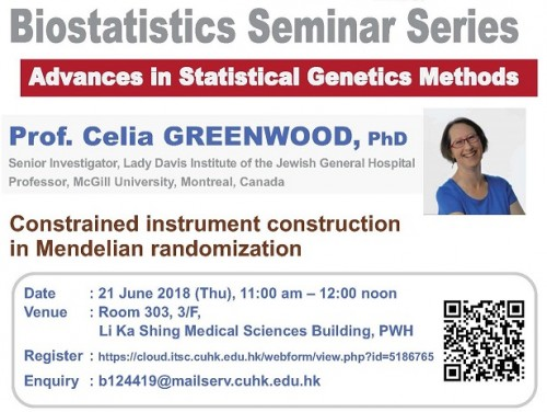 Title: Constrained instrument construction in Mendelian randomization